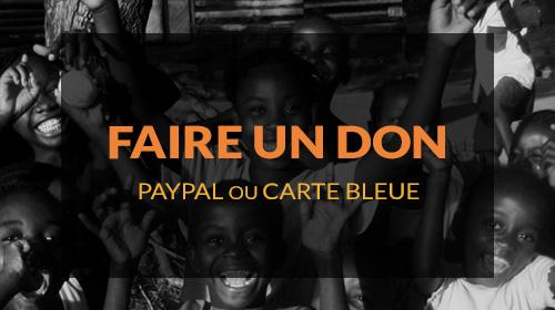 Faire un don orphelinat Congo Afrique