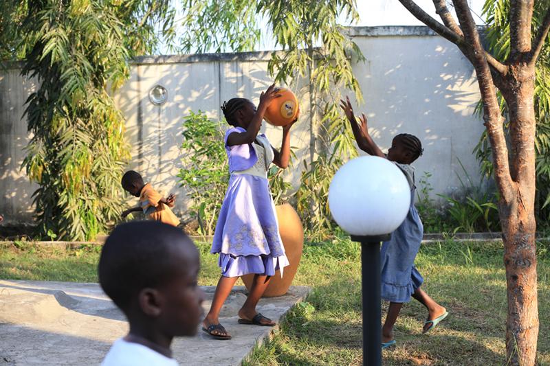 Orphelinat Congo Afrique