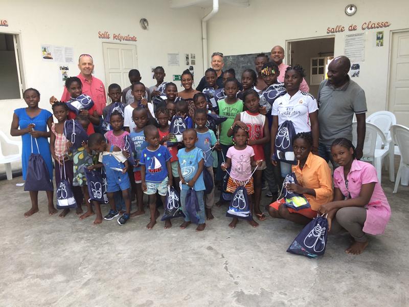 orphelinat au Congo Afrique