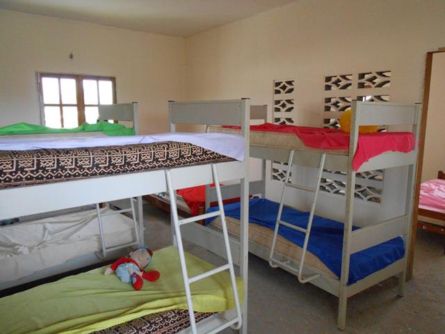 Dortoir orphelinat Congo